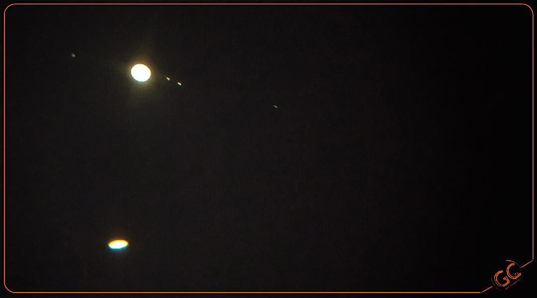 La grande congiunzione Giove Saturno